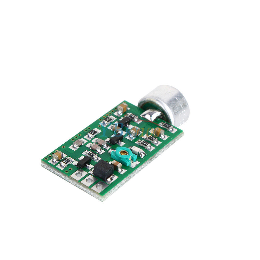 Fm Transmitter Module Board 88mhz 108mhz Mini Bug Wiretap Dictagraph Usb Circuit For Pc And Laptop Package Includes 107 9v