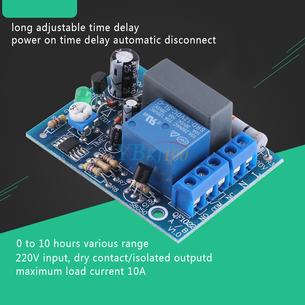 Details About Small Timer Switch 10a Delay Off 12v Time Relay From 1