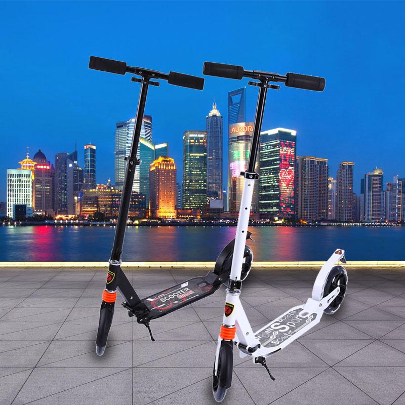 scooter cityroller tretroller kinderroller klappbar 200mm. Black Bedroom Furniture Sets. Home Design Ideas