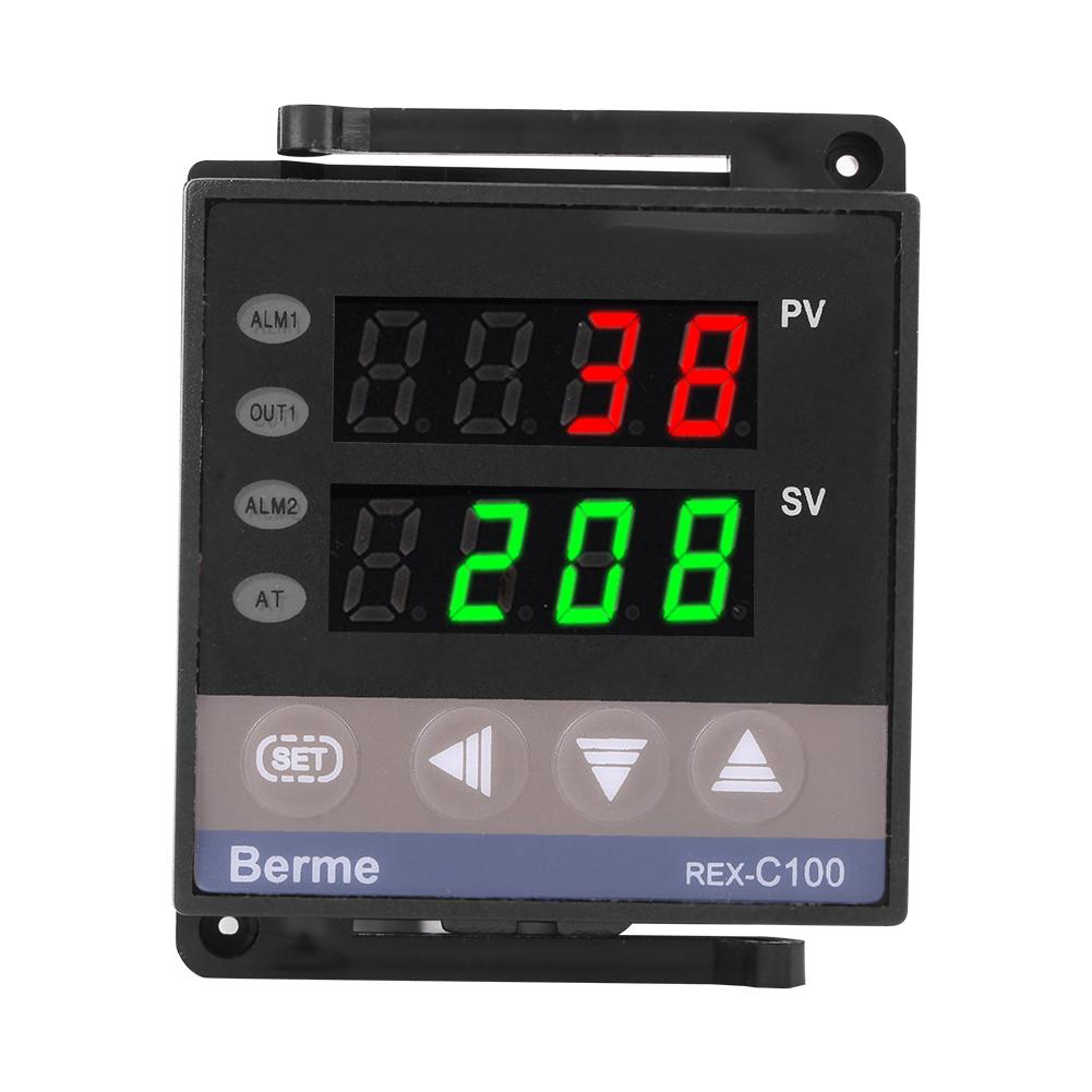 PID Digital Temperature Controller REX-C900 100-240VAC 0-400℃ SSR Output