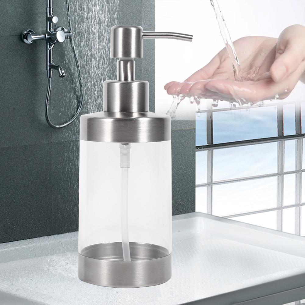 safety soap dispenser countertop pump lotion bottle for bathroom kitchen ebay. Black Bedroom Furniture Sets. Home Design Ideas
