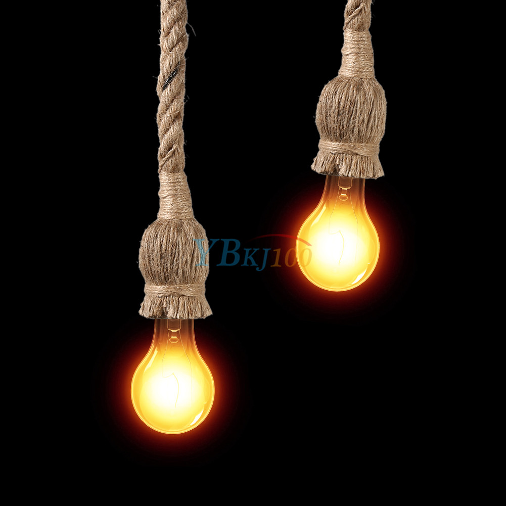 Modern rustic handmade rope knotted knot hanging ceiling pendant modern rustic handmade rope knotted knot hanging ceiling pendant lamp light deco aloadofball Choice Image