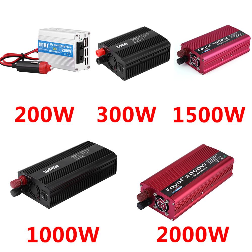 4000w Led Solar Power Inverter Dc 12 24v To Ac 220v Modified Sine Wave Circuit With Waveform Images Verified 2000w Dc12v 110v Converter Usb Charger For Car Vechile Home