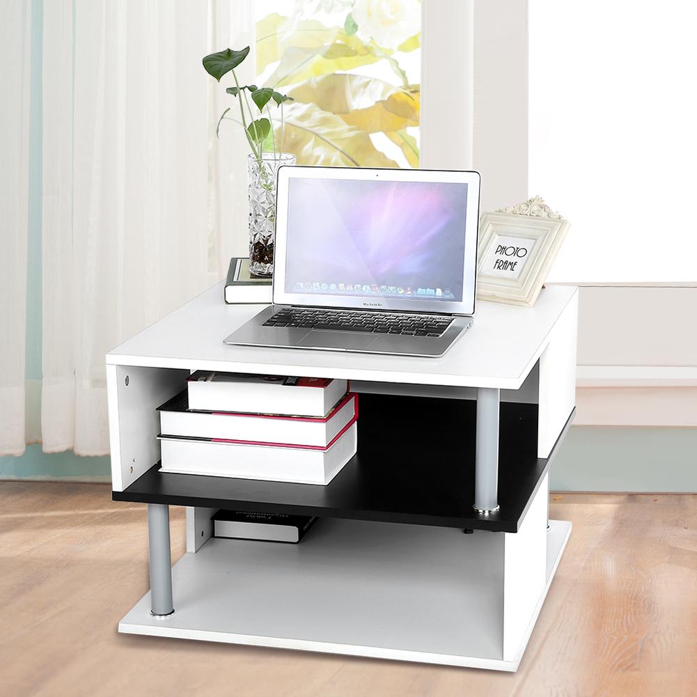 Couchtisch Wohnzimmertisch Beistelltisch 60x60x45cm Ablage Wohnzimmer Tisch AAA+