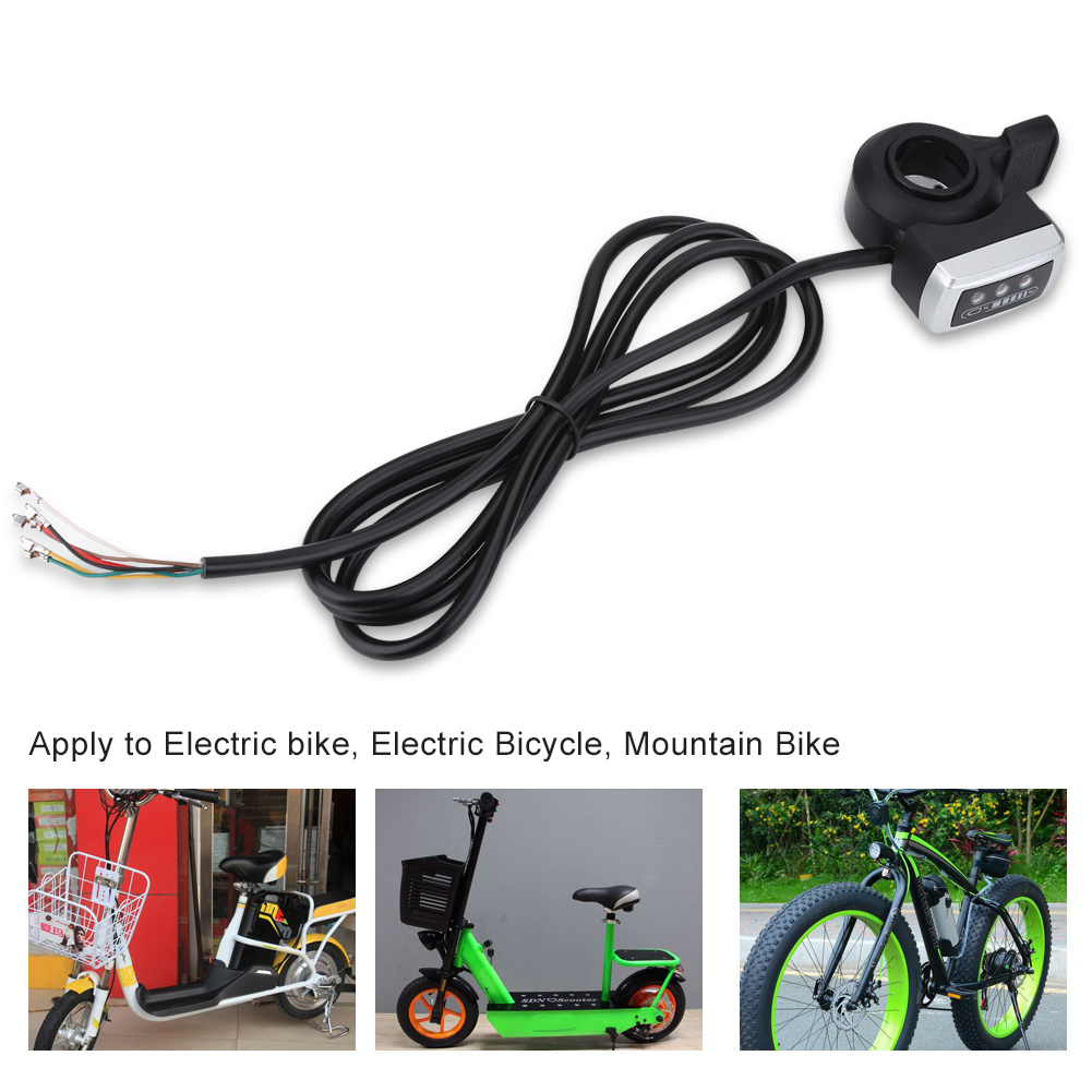36v Battery Indicator Ebike Electric Bicycle Thumb Throttle Left Wiring Diagram Right Handle Ob