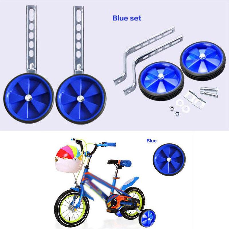12-20/'/' Kids Bicycle Stabiliser Children Balance Flashing Bike Training Wheels