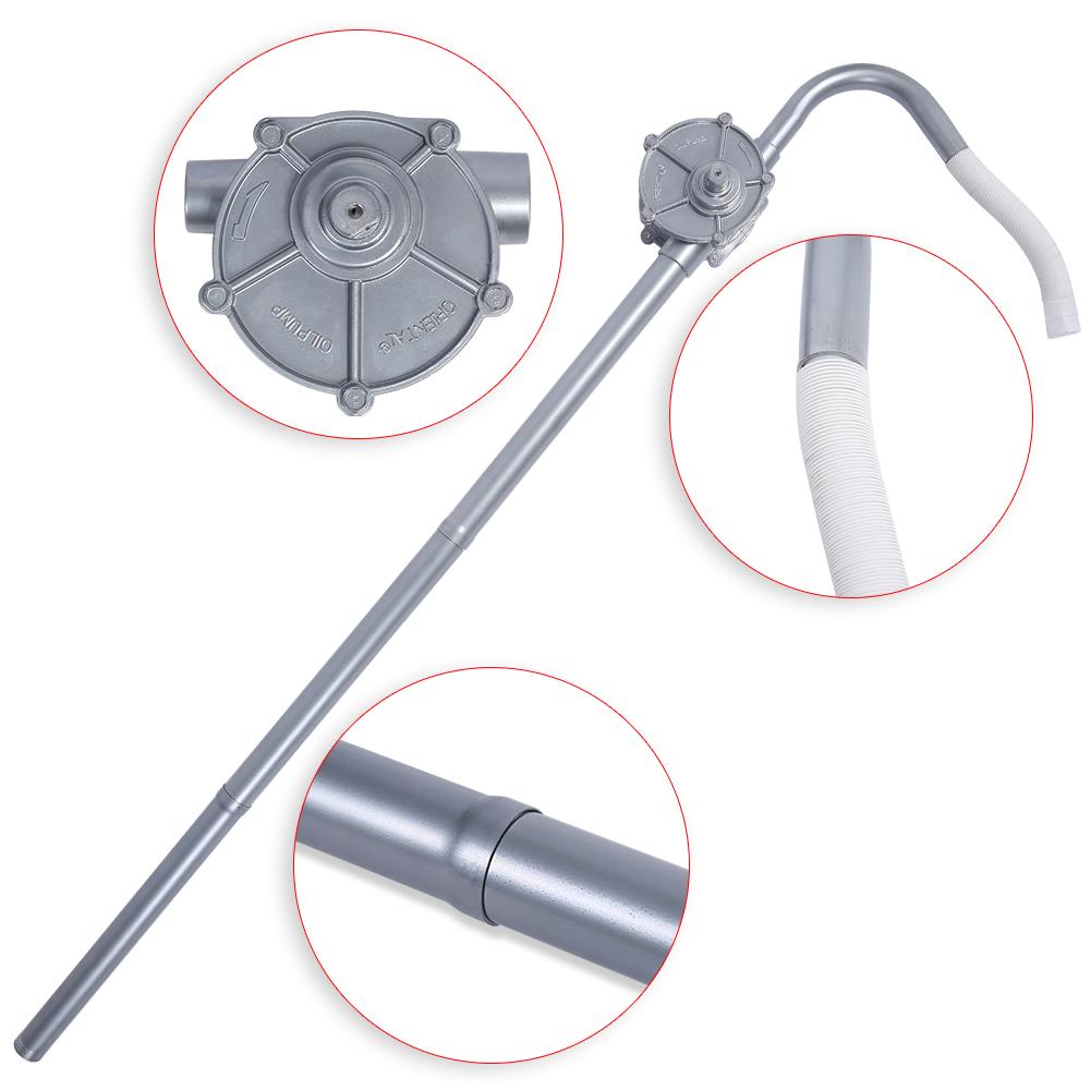 Verstellbare Kurbelfasspumpe Fasspumpe Handpumpe Ölpumpe Absaugpumpe Diesel DHL