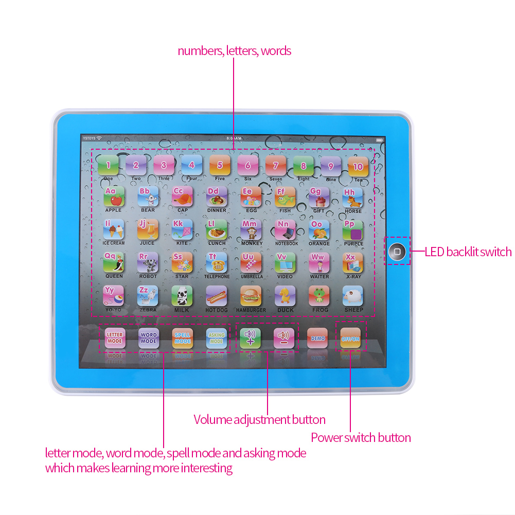 Toys For Girls 1 3 : Baby tablet educational toys girls toy for year old