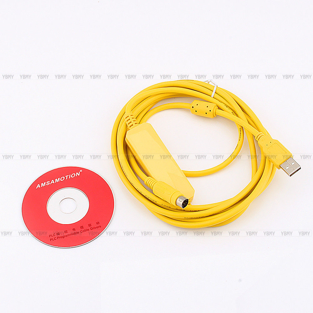 Plc Programming Cable Usb Sc09 Fx To Rs422 Adapter For Mitsubishi Series
