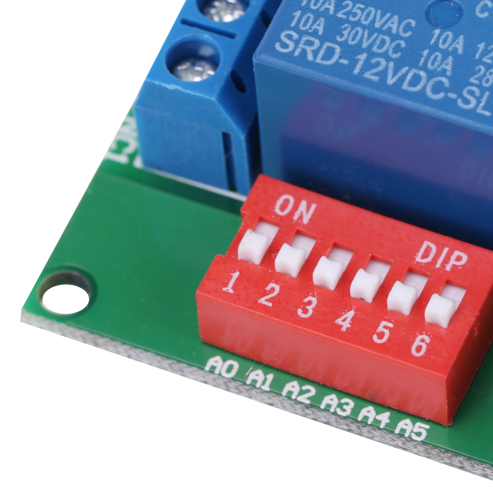Dc 12v 4 Channel Rs485 Delay Timer Switch Relay Module Modbus At Time Circuit W Vehicle Electrical Remote Control