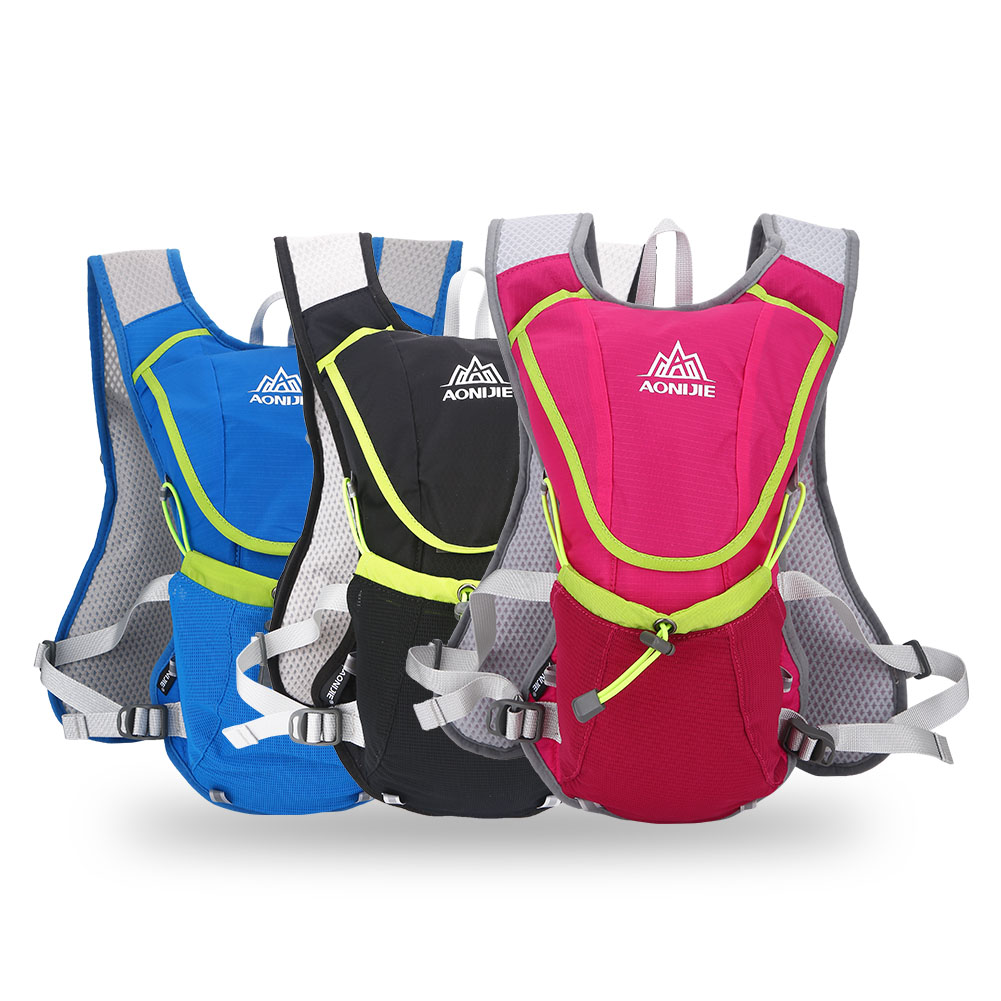 AONIJIE Running Cycling Vest Backpack Sports Camping Hydration Water Bag Pack