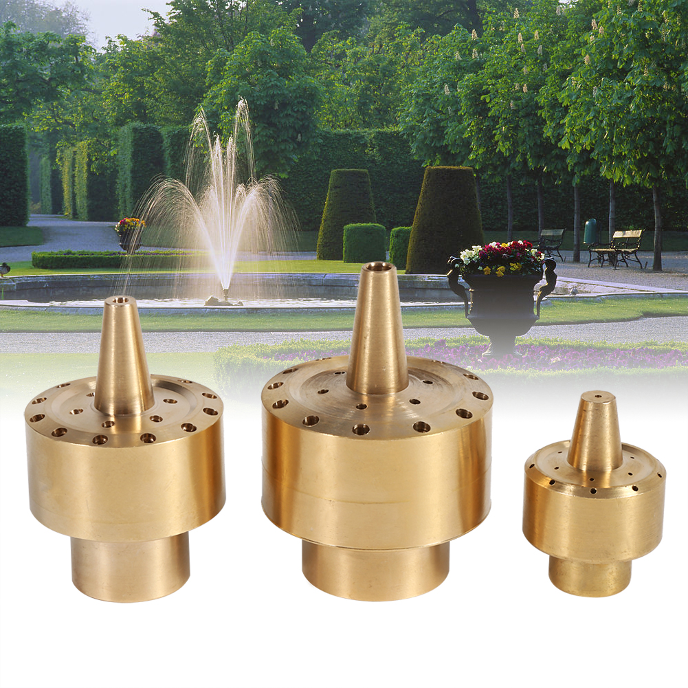 1 4 Quot 1 2 Quot 3 4 Quot Brass Garden Pond Fountain Water Nozzle