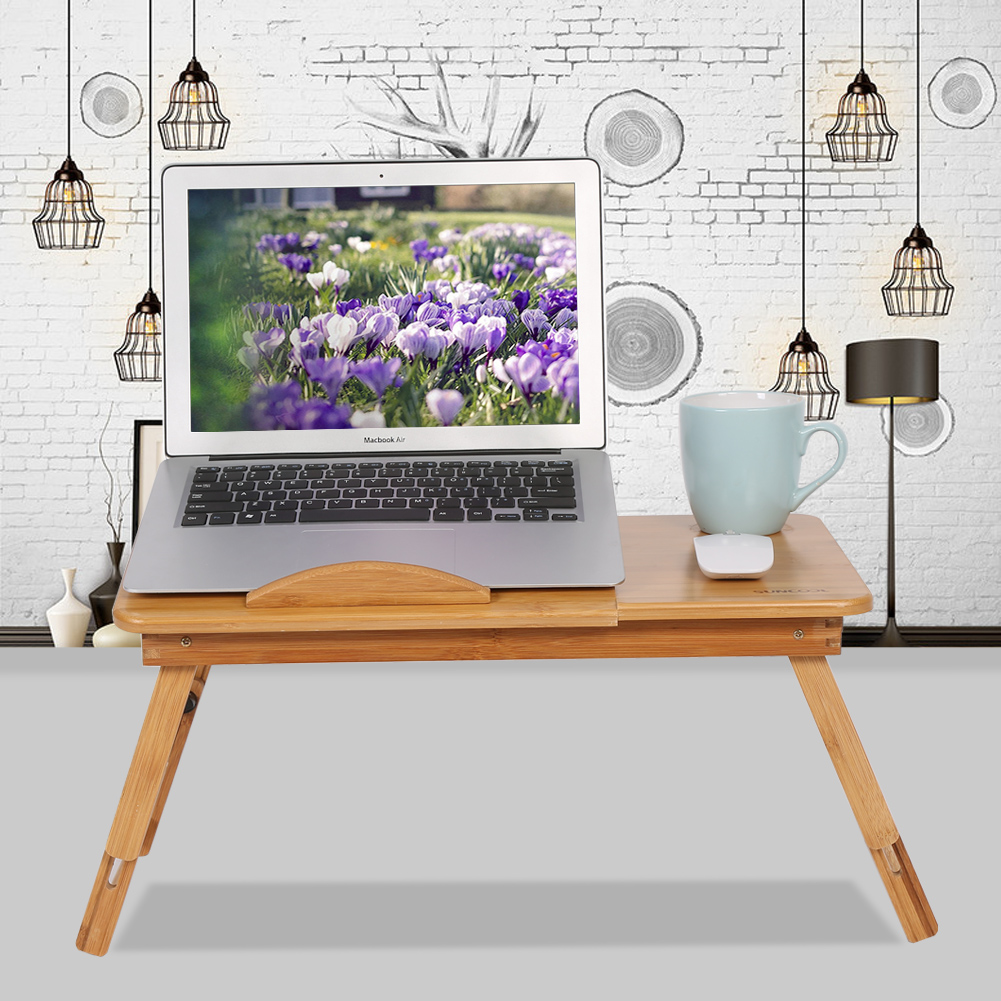 portable laptop computer desk bed sofa tray stand foldable table w double vents ebay. Black Bedroom Furniture Sets. Home Design Ideas