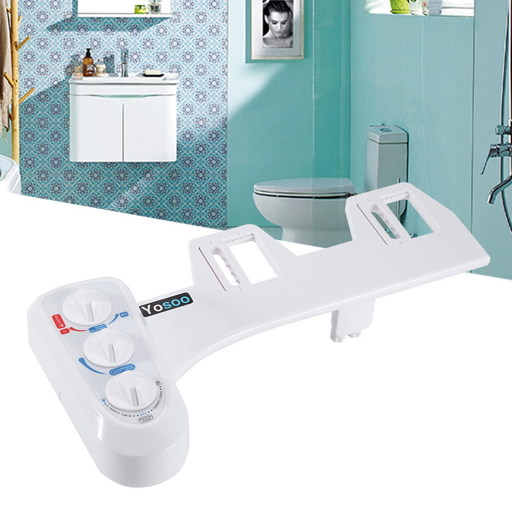 Self Cleaning Hot/Cold Water Bidet Flush Non-Electric