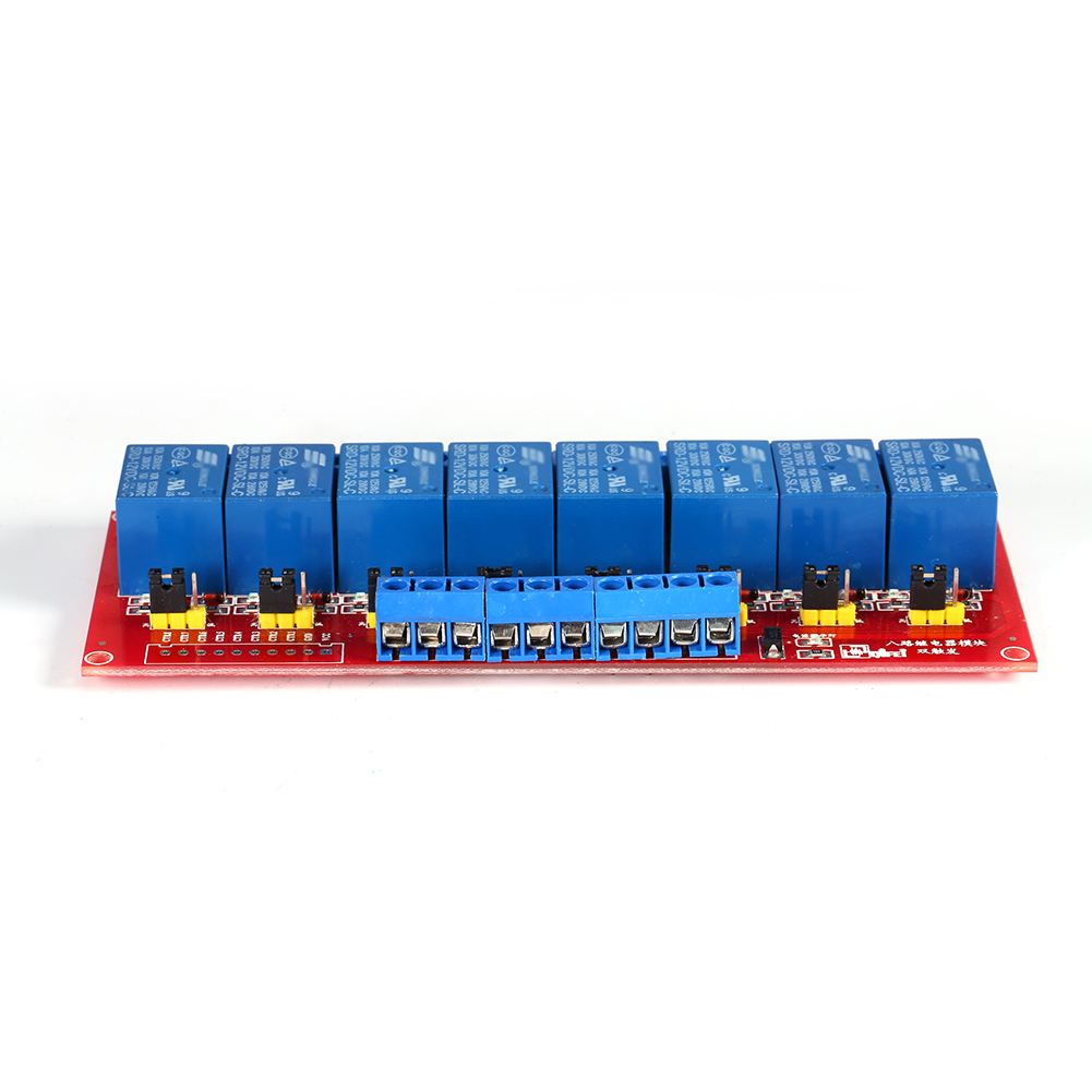 Dc 12v 8 Channel High Low Level Dual Trigger Relay Module Board Mini 8channel Wireless Remote Control Switch Dc9v Dc12v On Off Details