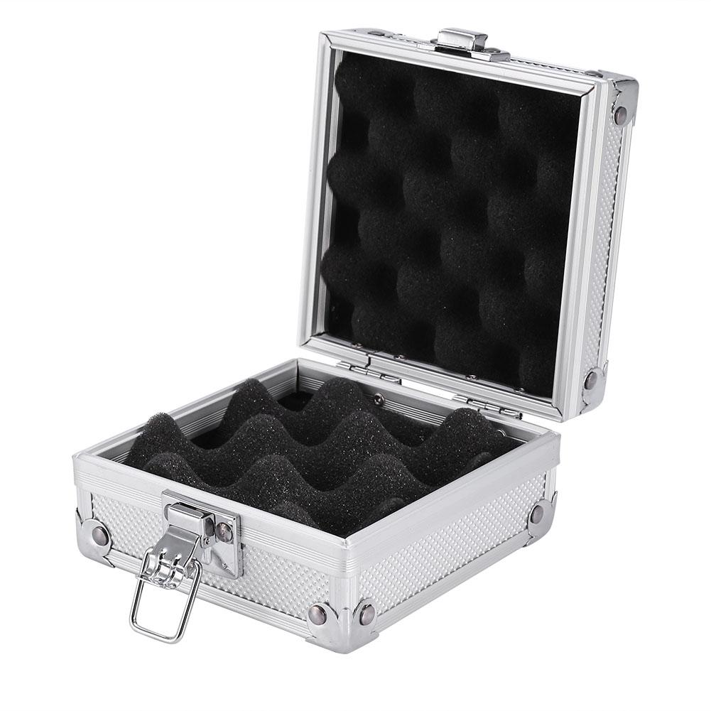 Tattoo machine gun case aluminum box carrying storage for Tattoo machine case
