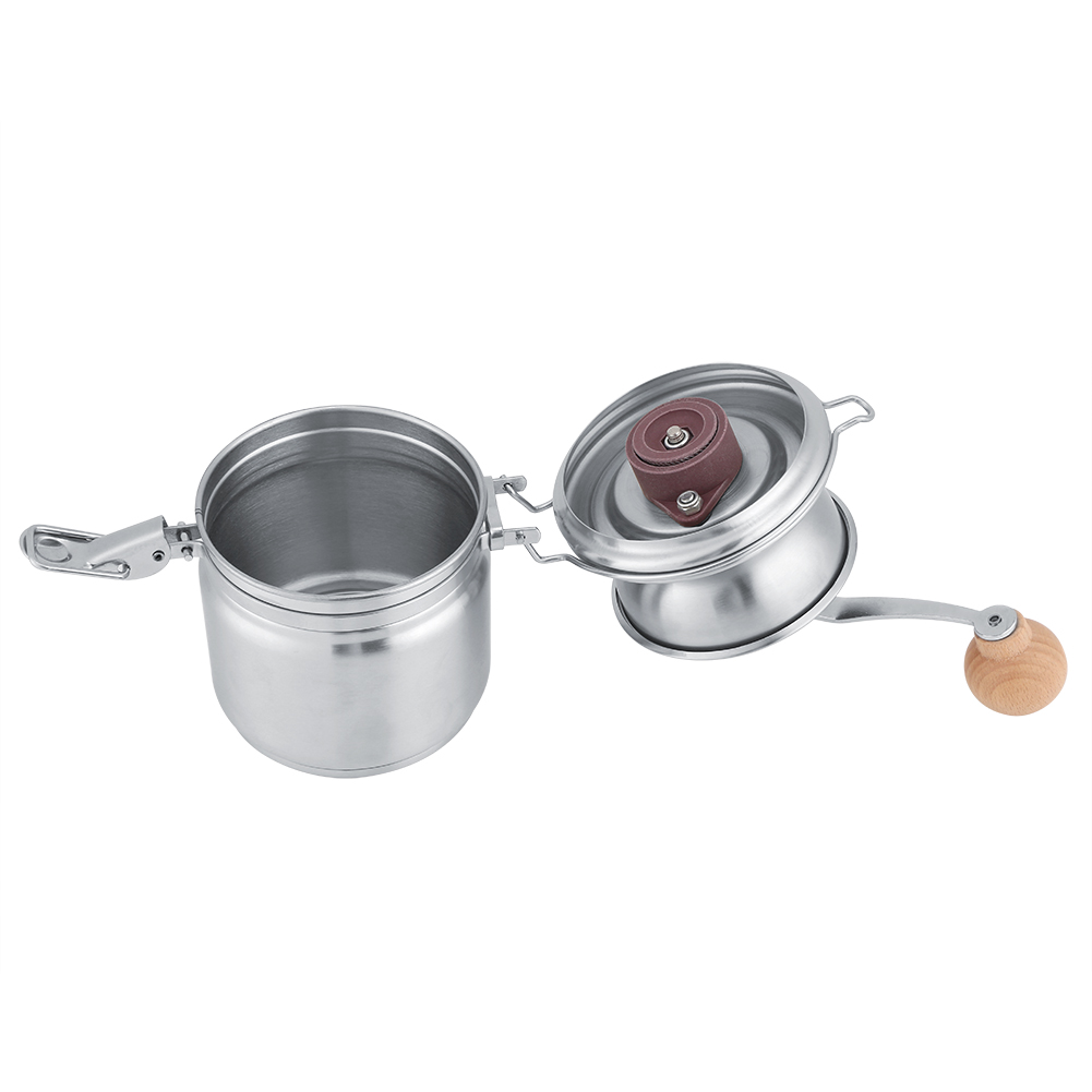 Stainless Steel Manual Coffee Grinder Spice Beans Nuts