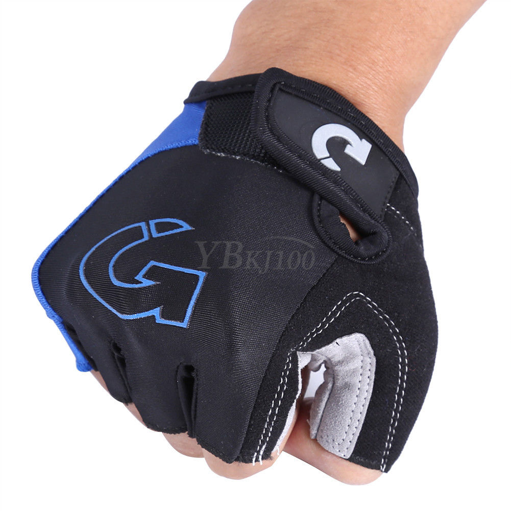 Stretching Unisex Cycling Gloves Bike Motorcycle Sport Half Finger Gloves