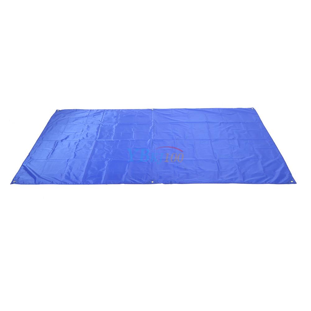 waterproof canopy tarp sun shelter camping mat beach