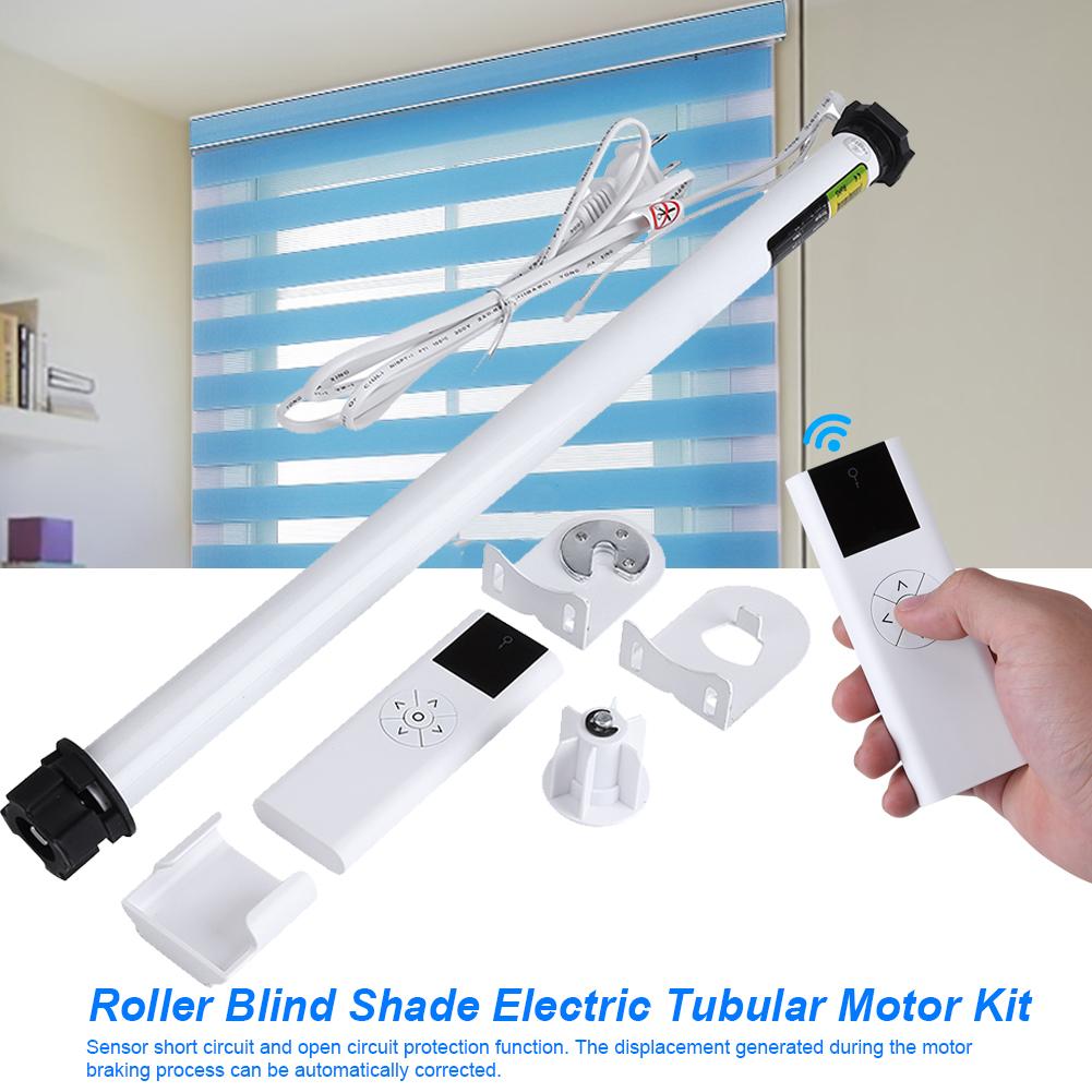 100 240v Roller Blind Motor Kit Soft Window Curtain Close