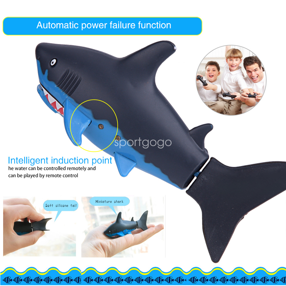 RC Shark Remote Control Electric Remote-Controlled Water ...