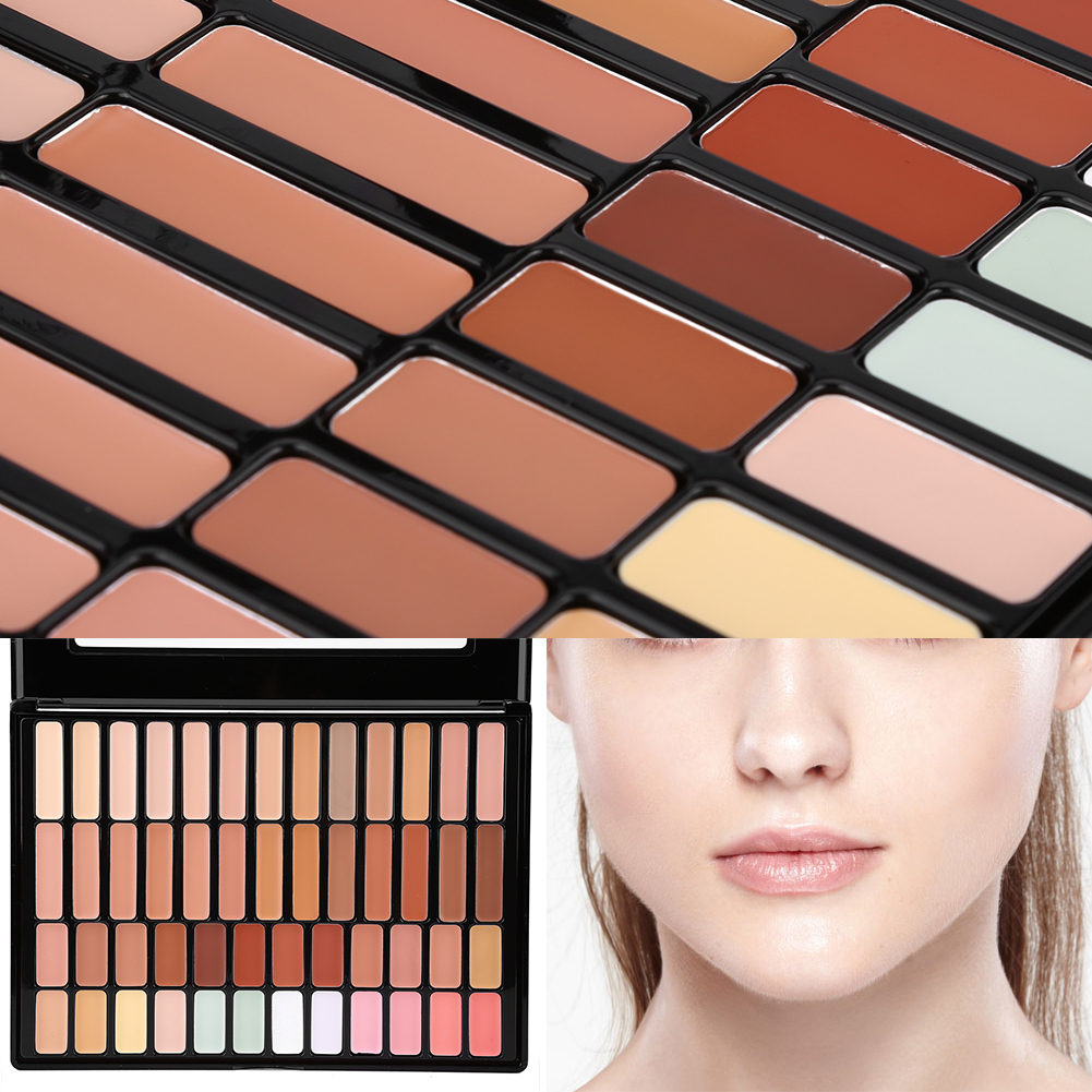 concealer and corrector palette how to use