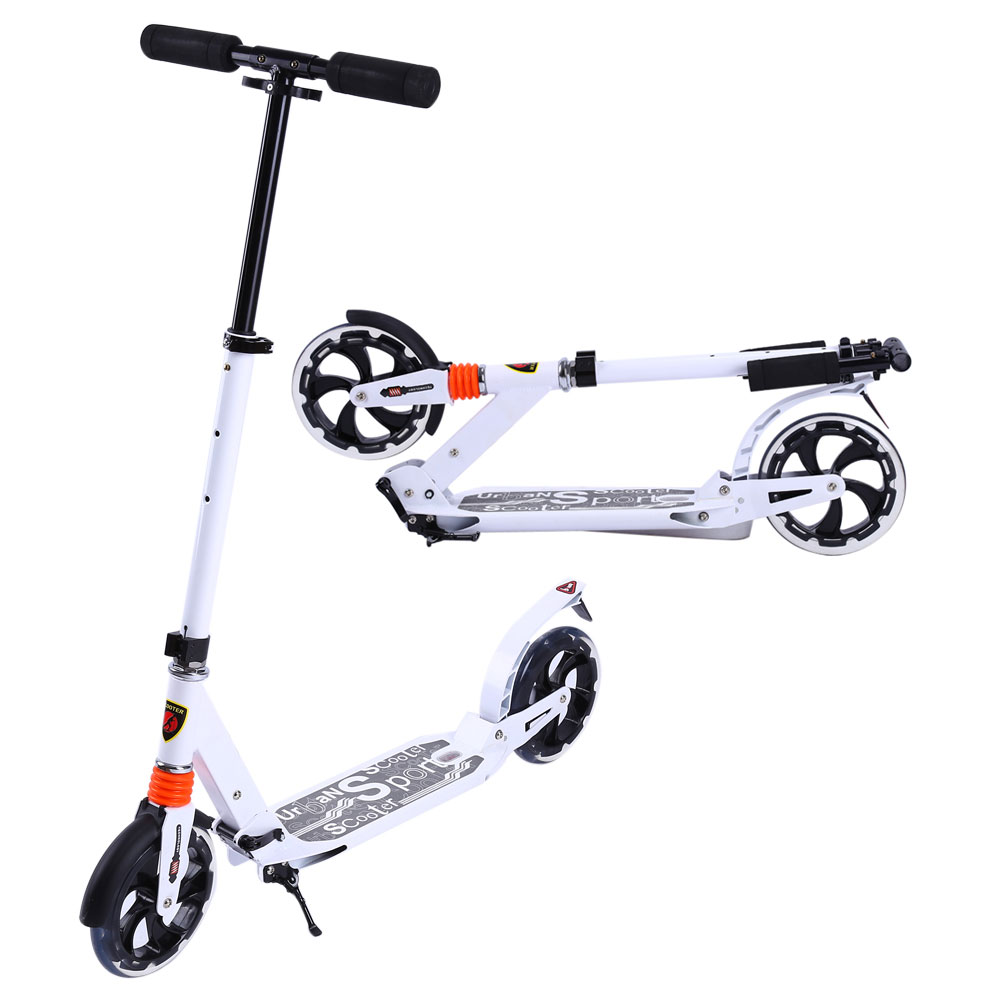 scooter cityroller tretroller klappbar roller 20cm wheel. Black Bedroom Furniture Sets. Home Design Ideas