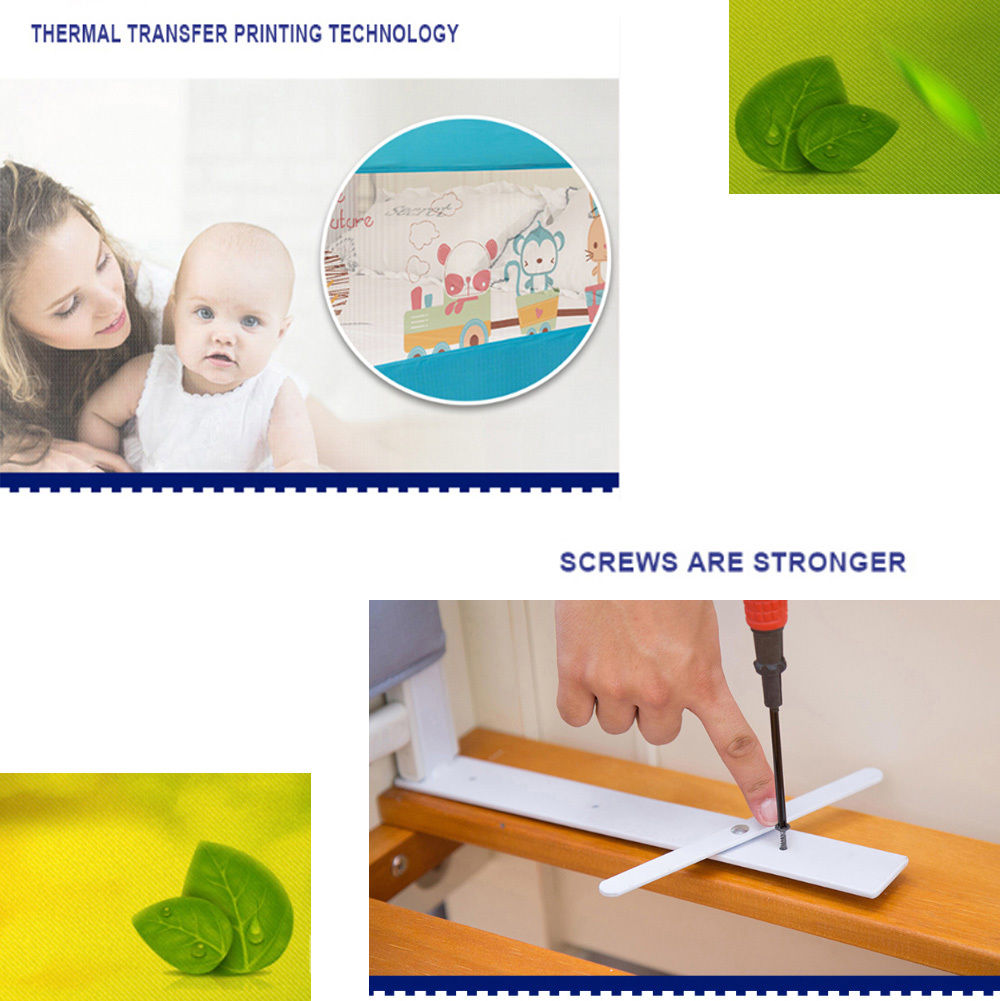 150 180 Cm Child Toddler Safety Guard Infant Bed Rail Protection Folding Bedrail