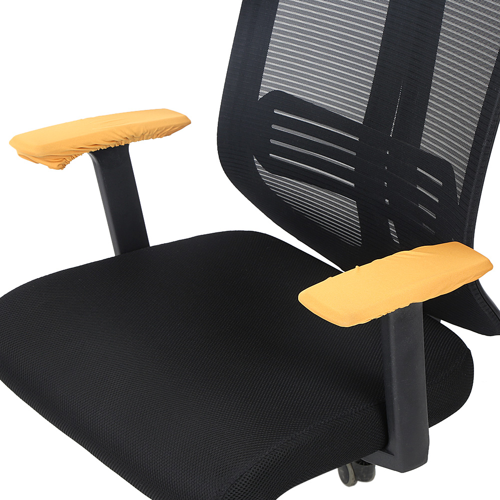 1 Pair Removable Chair Armrest Covers Protector Office