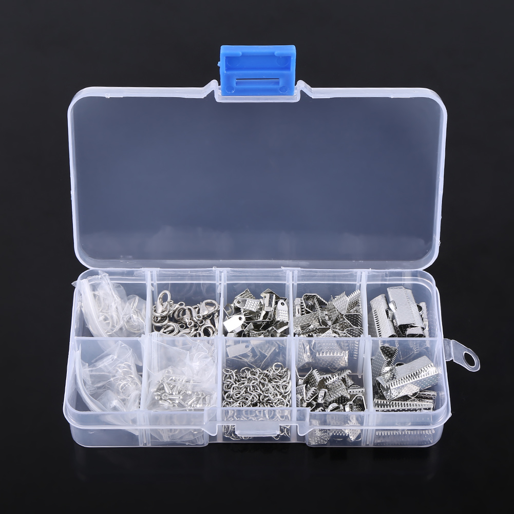 200Pcs Jewelry Making Findings Starter Kit Key Chain Necklace Earring DIY Craft | eBay