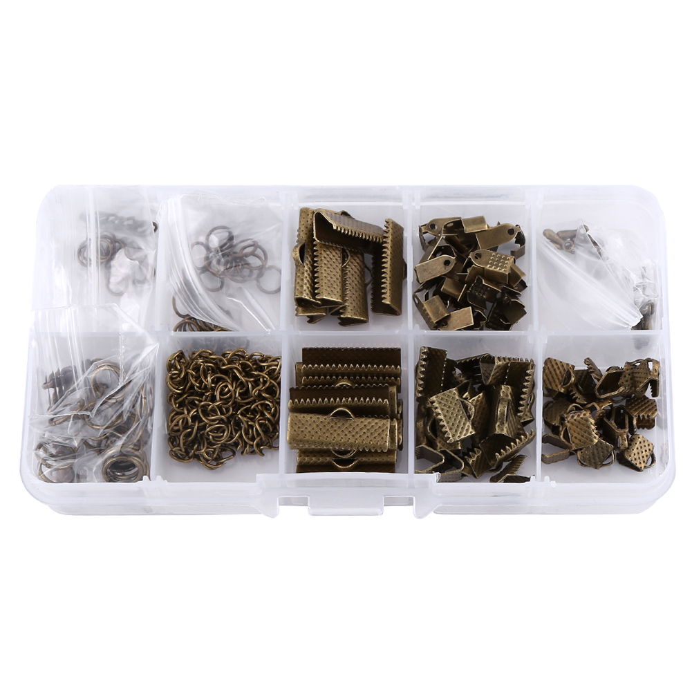 200pcs jewelry making findings starter kit key chain for Earring supplies for jewelry making