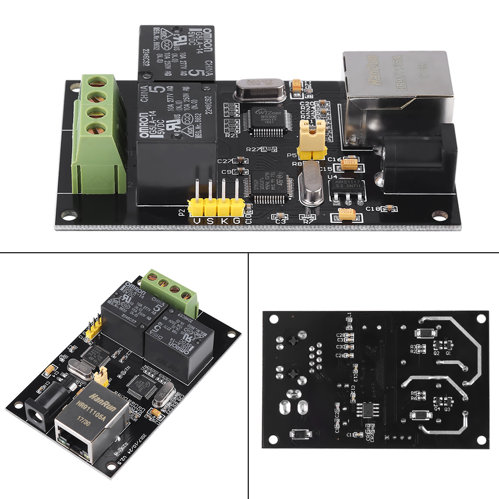 2-way Internet Relay Board Ethernet TCP//IP Controller Remote Switch Module