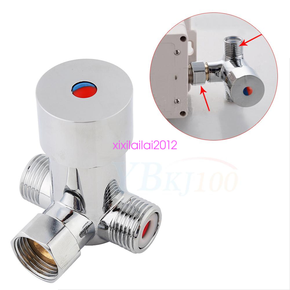 G1 2 Water Heater Thermostat Mixing Valve Hot Cold