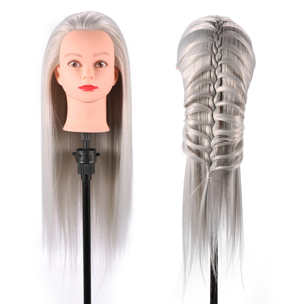 3types Hairstyle Doll Head Cosmetology Mannequin Hair Style Beauty