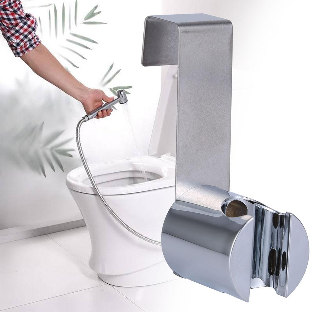New Hand-held Shower Home Toilet Washroom Bidet Sprayer Holder Hook ...