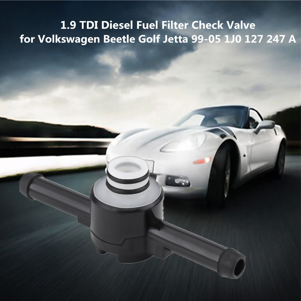 Car 19 Tdi Diesel Fuel Filter Check Valve For Vw Beetle Golf Vehicle Jetta