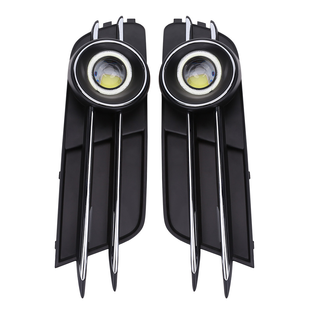 2pcs car front bumper lower fog driving light grill grille for audi details fandeluxe Choice Image
