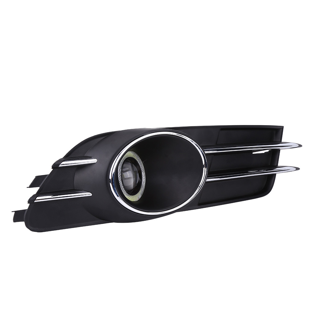 2pcs car front bumper lower fog driving light grill grille for audi details fandeluxe Gallery