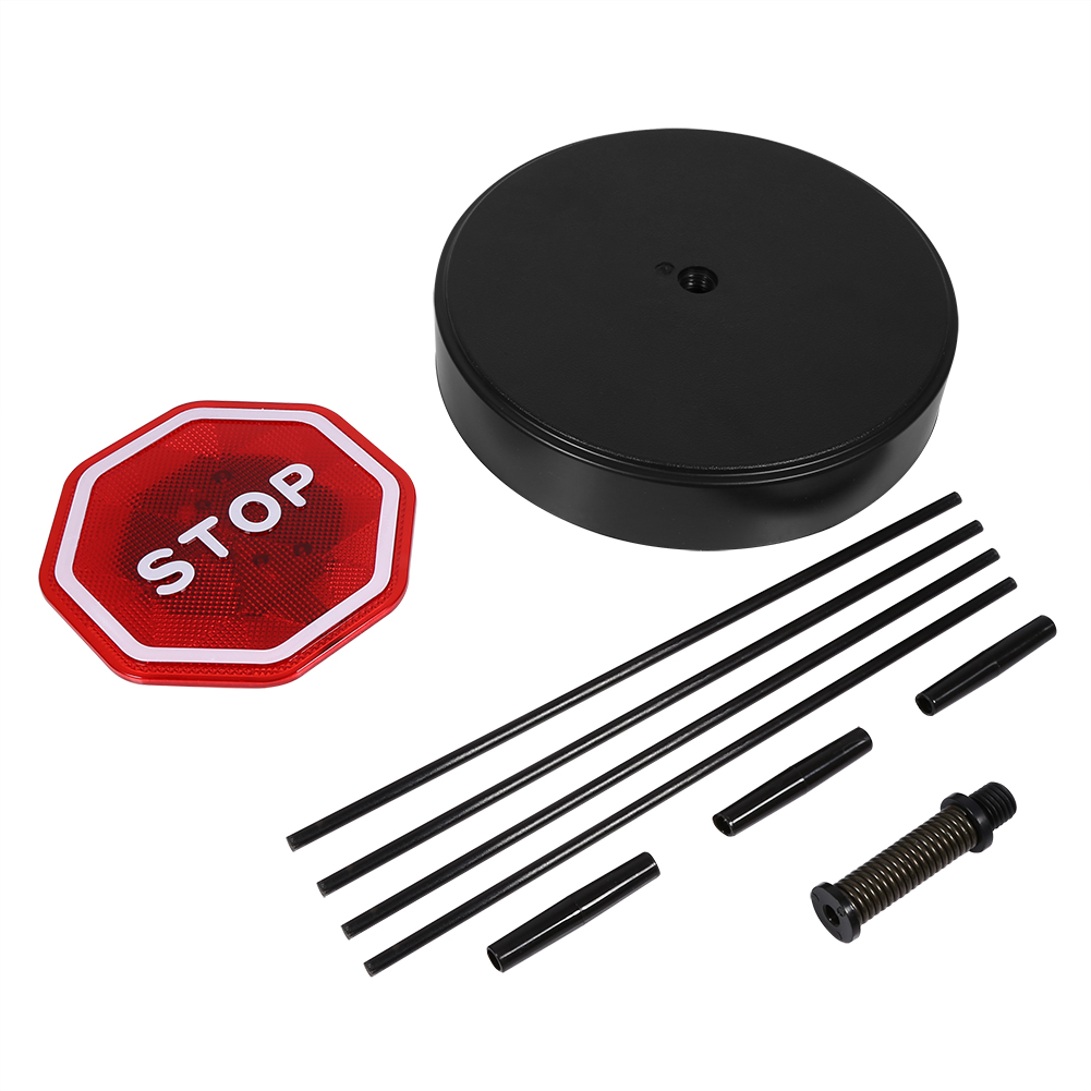 Stop Light For Garage Wall: Flashing LED Stop Sensor With Flexible Stand Auto Parking