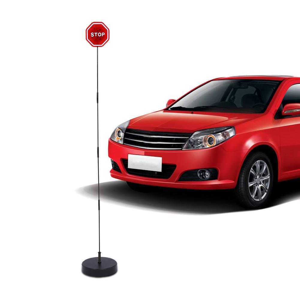 Garage Parking Place Stop Sign LED Flashing Light Car