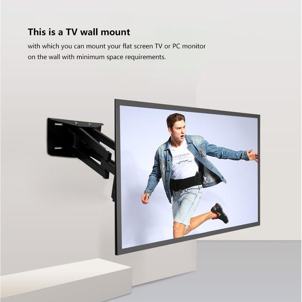 26 55 zoll lcd led tv wandhalter wandhalterung halterung klappbar schwenkbar su ebay. Black Bedroom Furniture Sets. Home Design Ideas