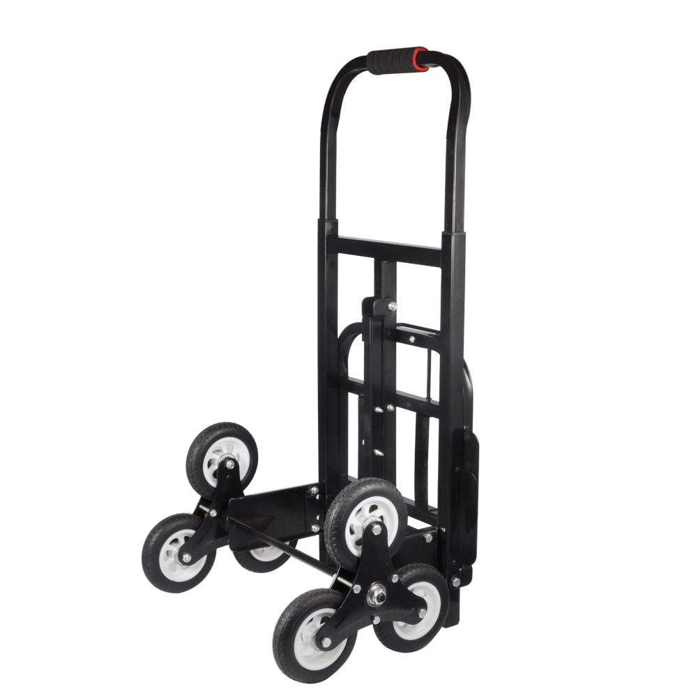 440lb heavy duty stair climbing moving dolly hand truck for Motorized hand truck dolly