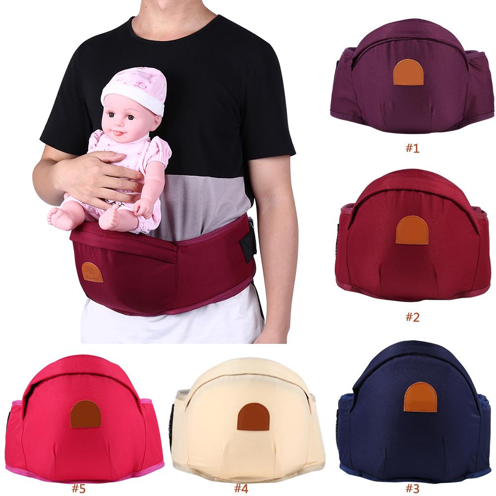ebc494a4afa Hipseat Baby Sit Carrier Waist Chair Belt Holder Infant Toddler Front Hip  Seat