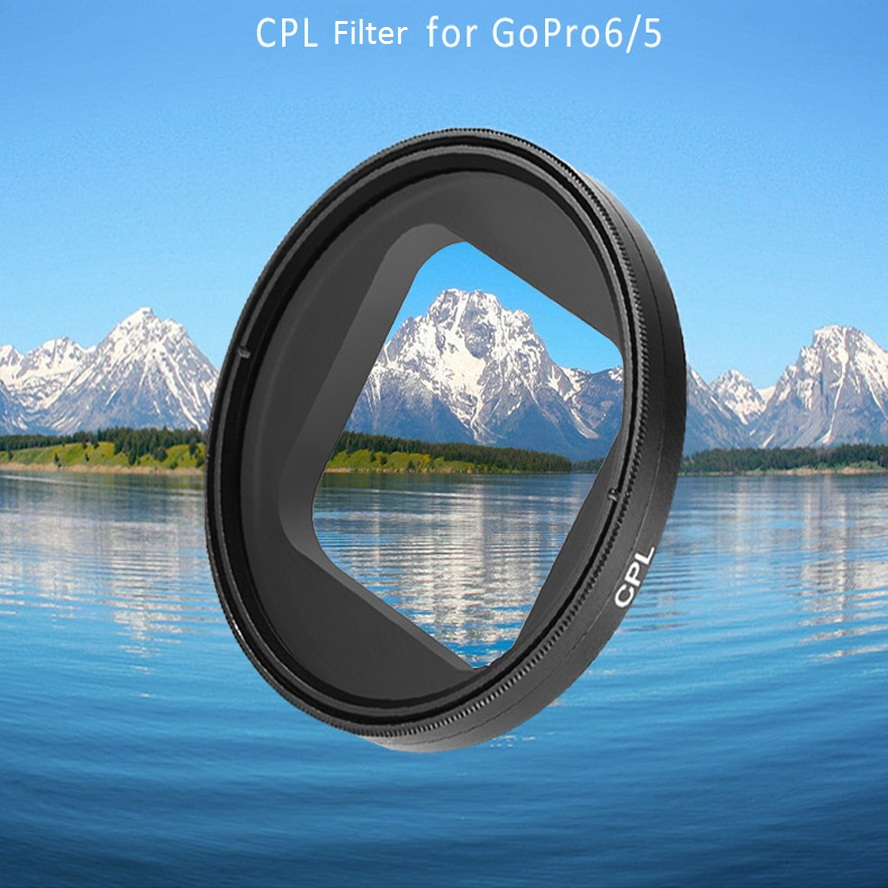 Telesin Cpl Filter Circular Polarizer Lens Protective For