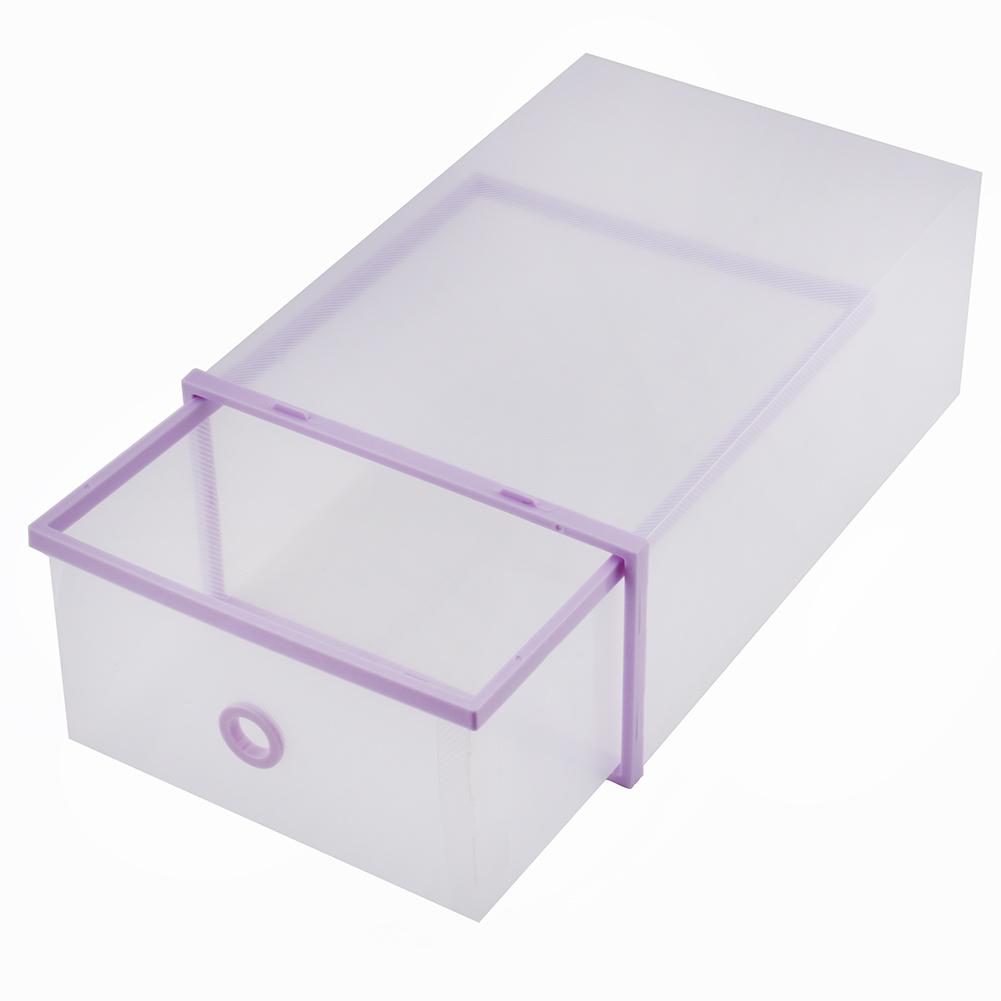 1 3 5pcs foldable plastic drawer case boots shoe storage. Black Bedroom Furniture Sets. Home Design Ideas