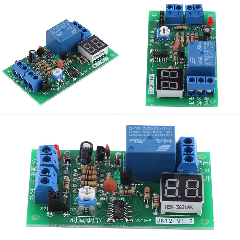 Dc 12v Delay Relay Module Trigger Delay Turn Off Board