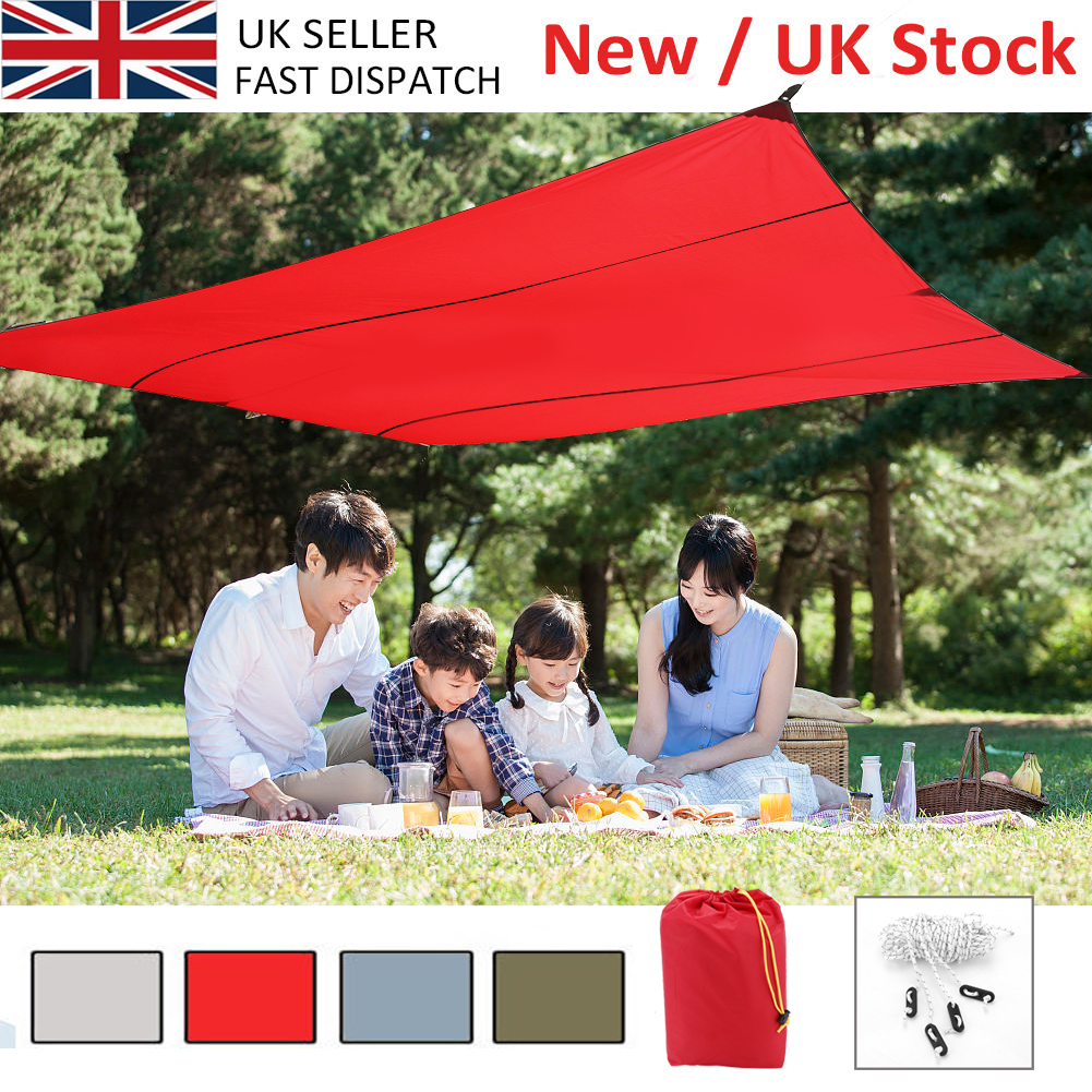 Portable Sun Shade Sail Water Resistant Canopy Patio Awning Garden 3
