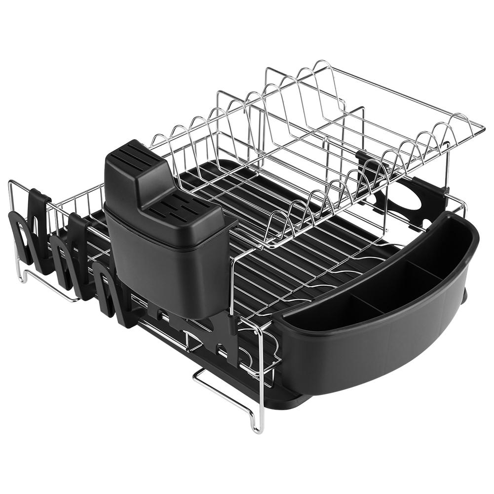 abtropfgitter abtropfgestell abtropfkorb edelstahl geschirrtrockner st nder gd ebay. Black Bedroom Furniture Sets. Home Design Ideas
