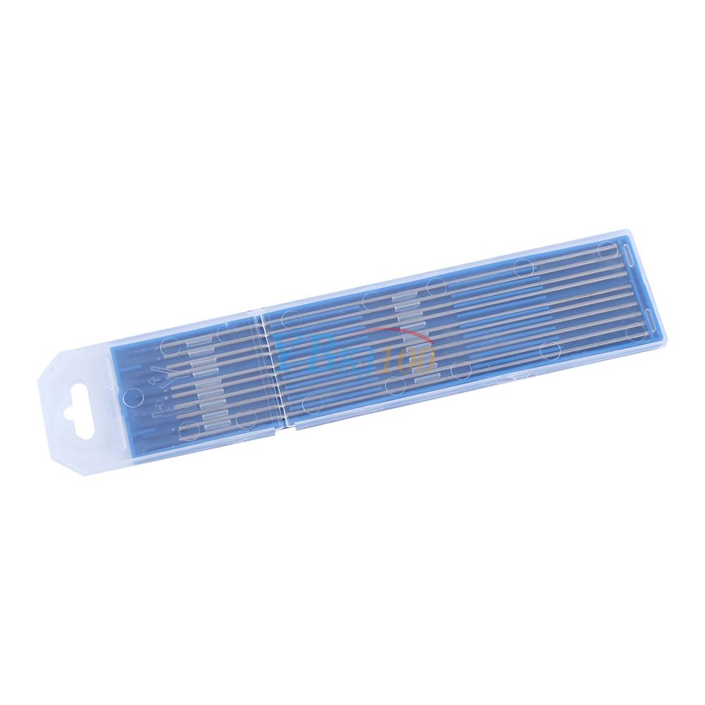 10pc WL20 Tungsten Lanthanated Tip TIG Welding Electrode Rods Blue 1.0//1.6//2.4mm