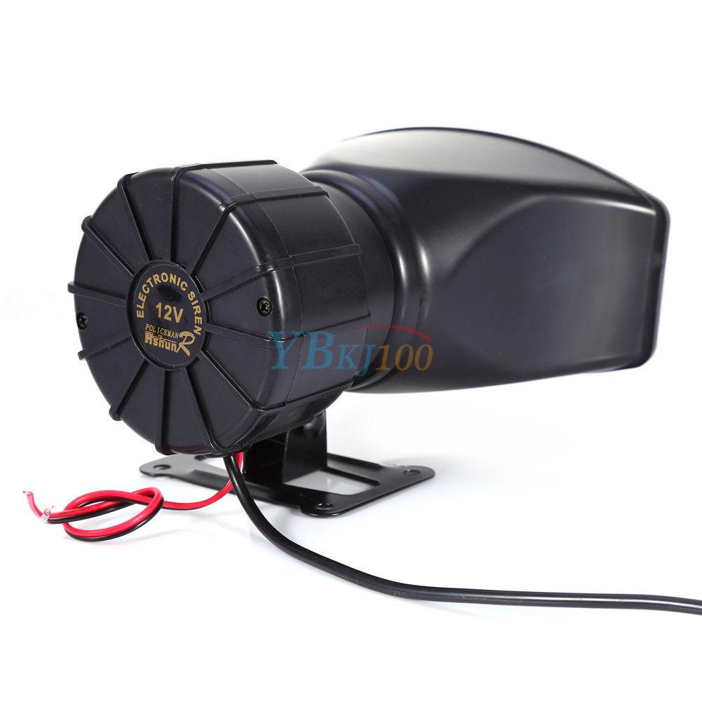 5 ton laute hupe signalhorn 300db mit mic lautsprecher pa f r auto fahrzeug lkw ebay. Black Bedroom Furniture Sets. Home Design Ideas